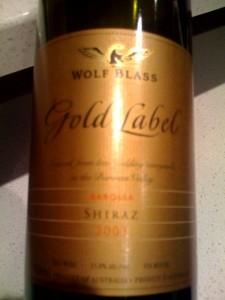 2003_gold_label_shiraz
